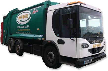 Waste Disposal Service Truck