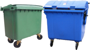 Waste Disposal Recycling Bins